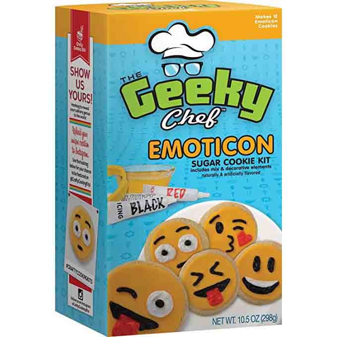 Emoticon Sugar Cookie Kit