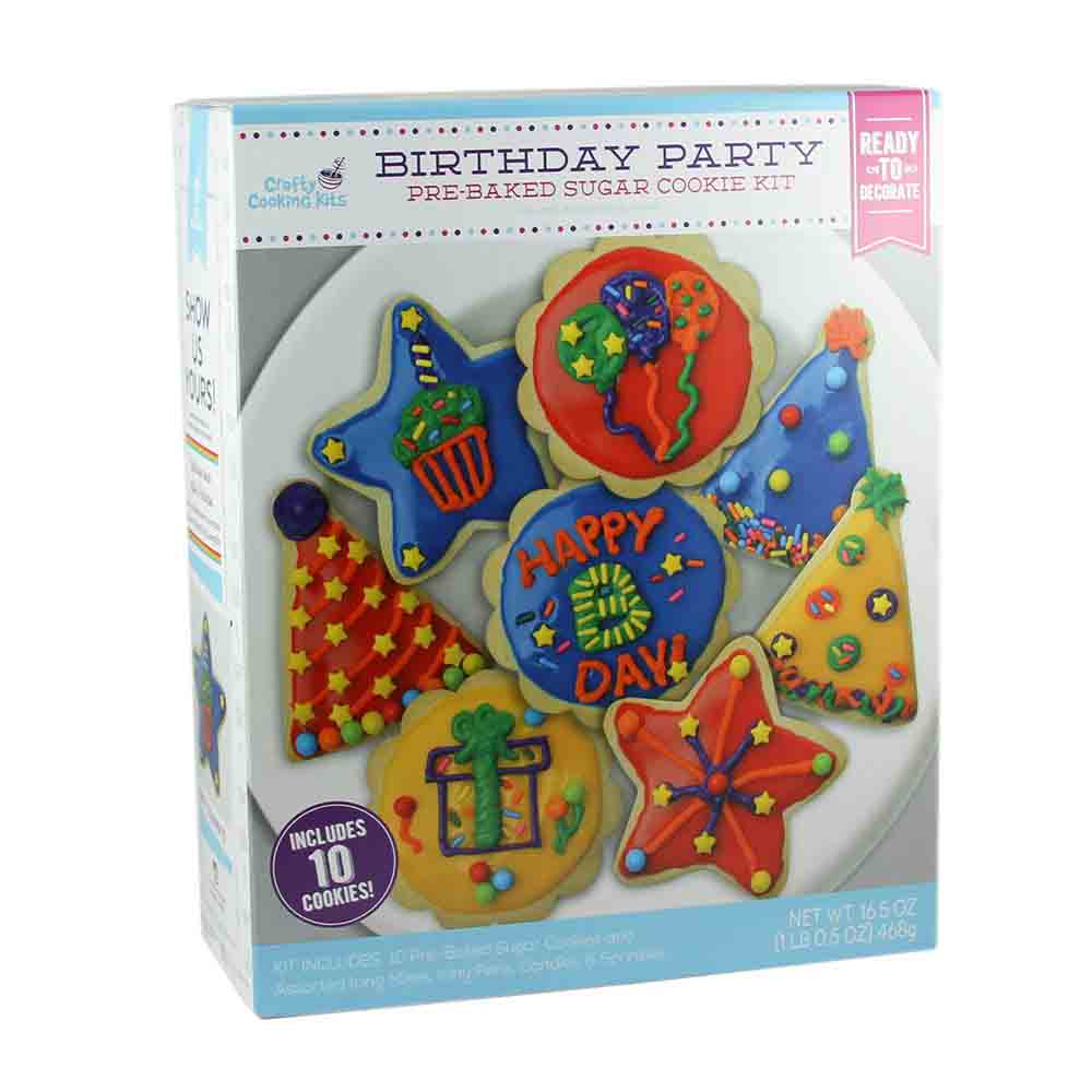 Birthday Party Sugar Cookie Kit
