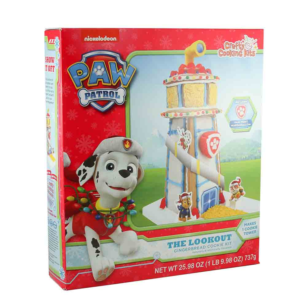 Paw Patrol Gingerbread Lookout Tower Kit