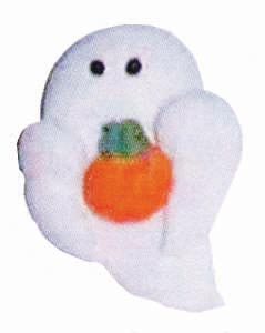 Icing  Lay-ons - Ghost with Pumpkin