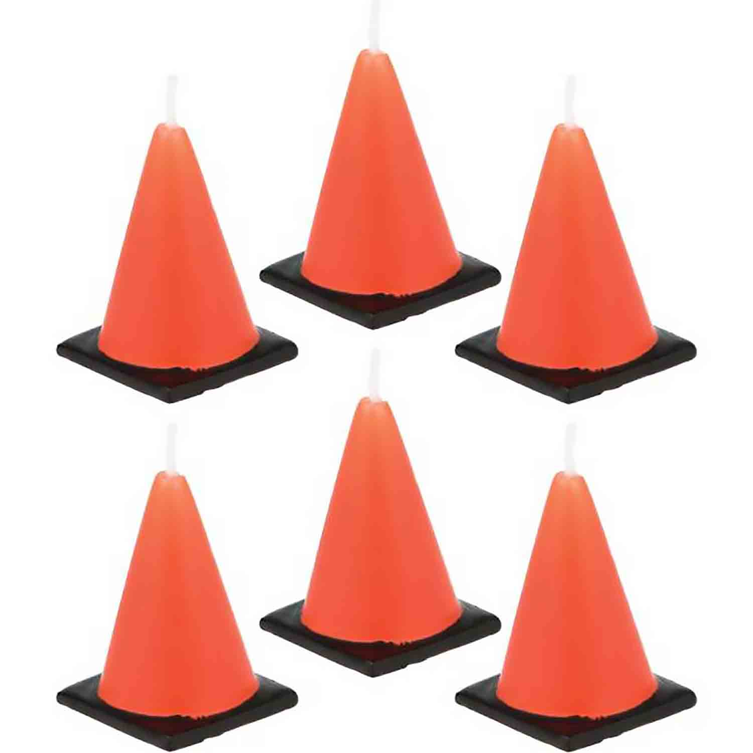 Contruction Cone Candles