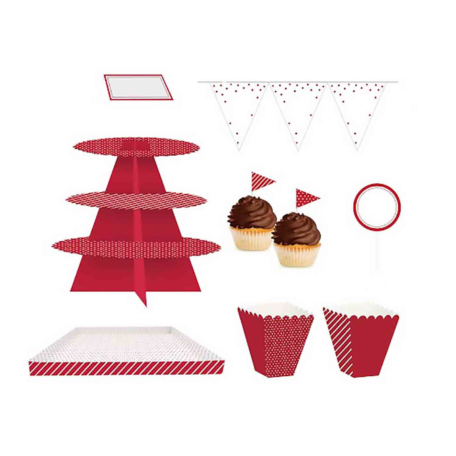 Classic Red Treat Table Kit
