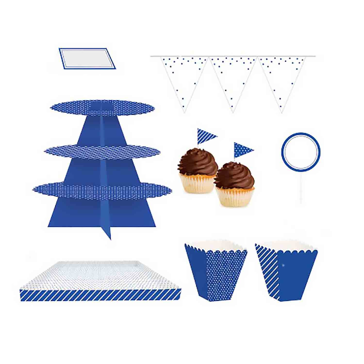 Cobalt Blue Treat Table Kit
