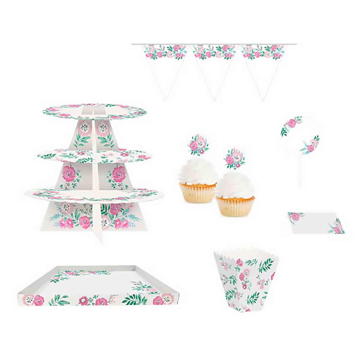 Floral Treat Table Kit