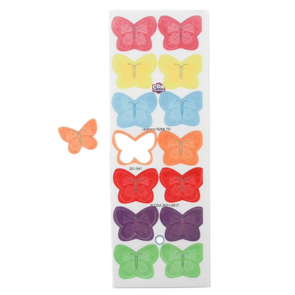Small Edible Wafer Butterflies