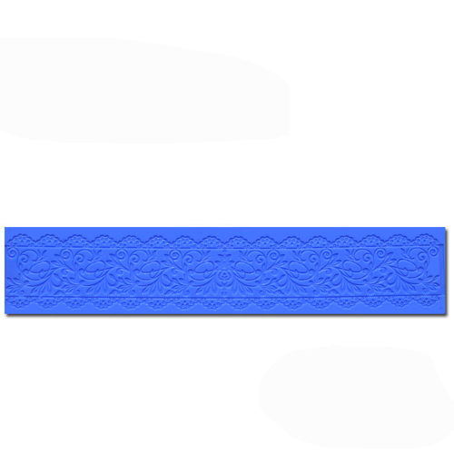 Fantasy 2-Color Ribbon Silicone Mat