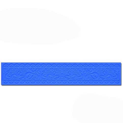 Mystique 2-Color Ribbon Silicone Mat
