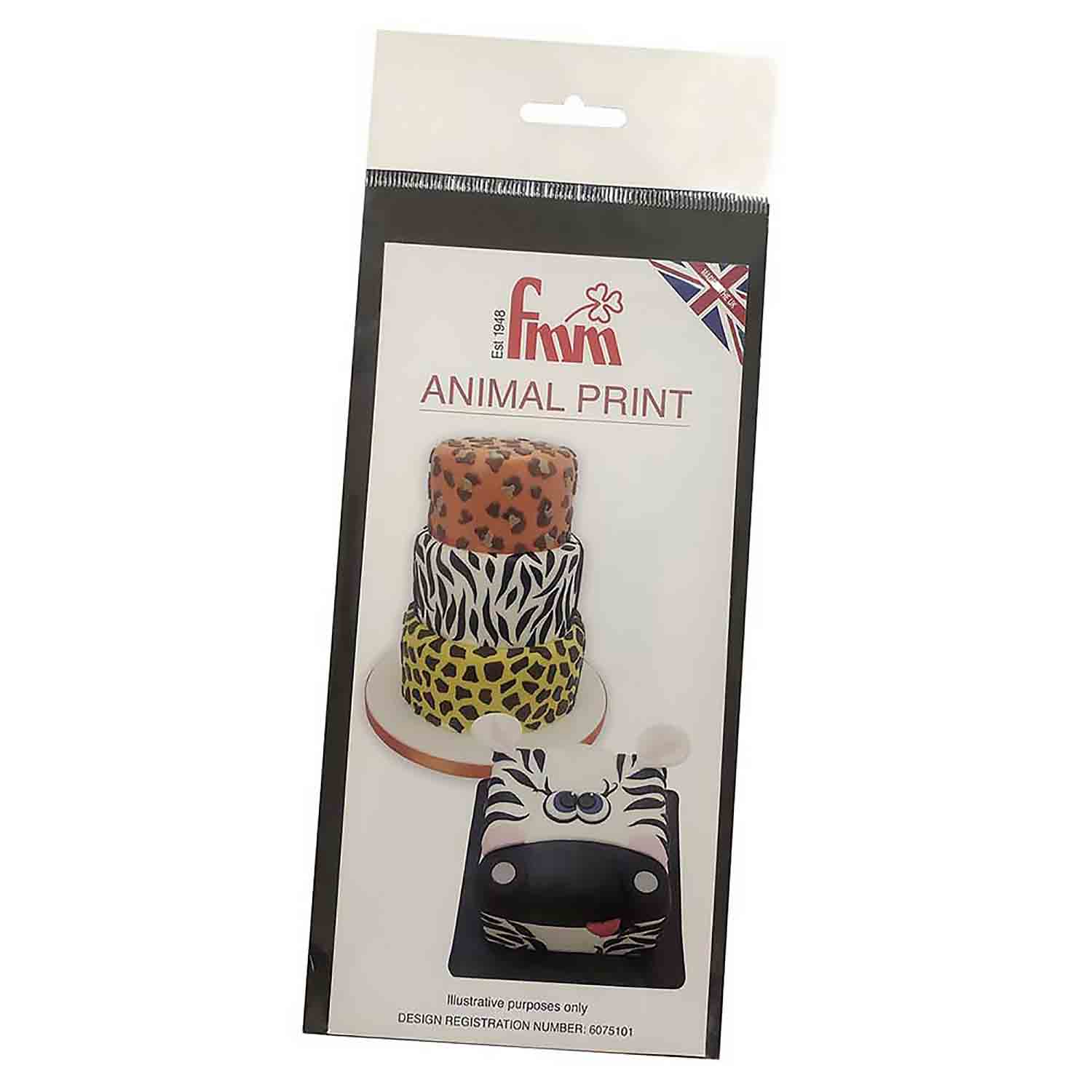 Animal Print Cutter Set