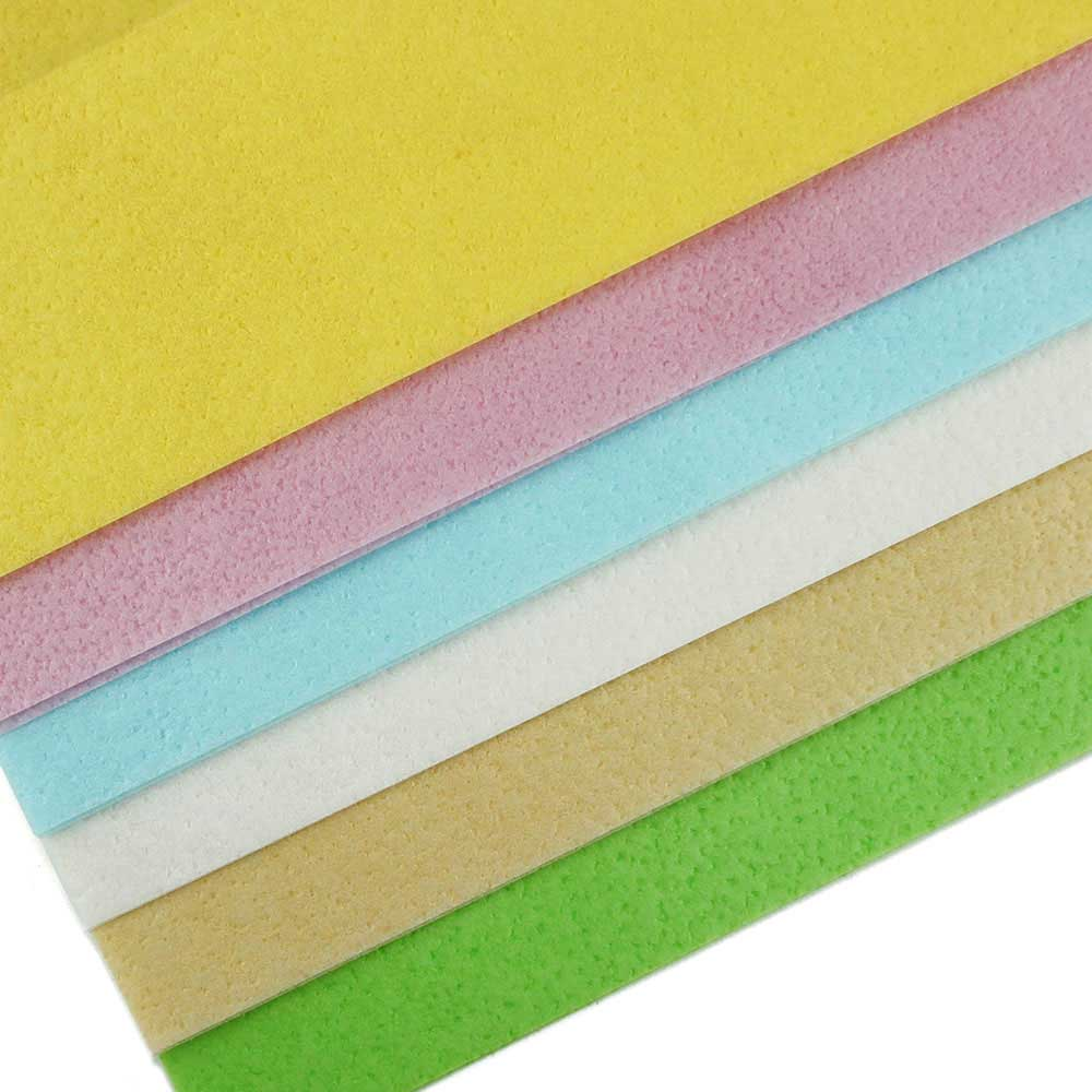 Translucent Edible Wafer Paper Color Assortment