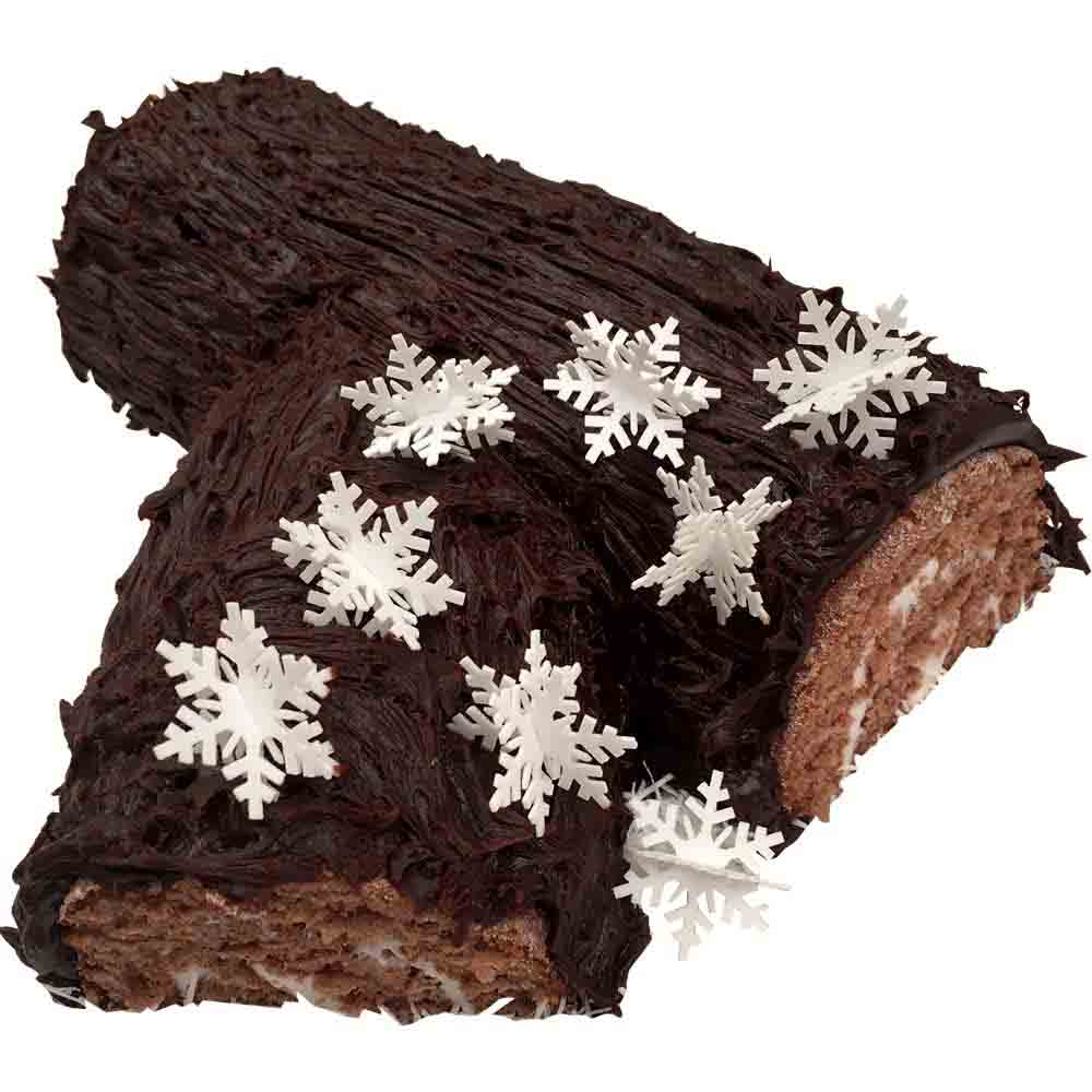Edible Wafer 3-D Snowflakes