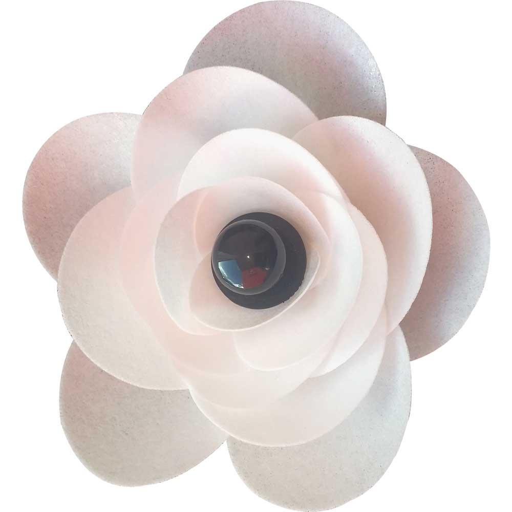 White Ranunculus Edible Wafer Flower Kit