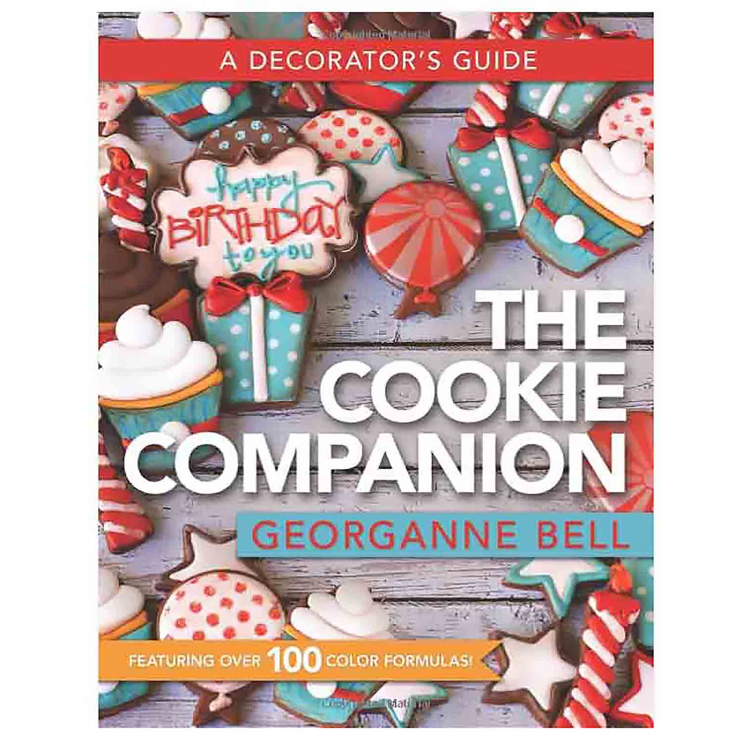 The Cookie Companion Color Chart Card Set Cf 0203 Country