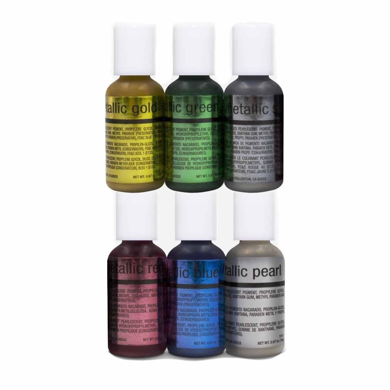 Metallic Airbrush Color Kit