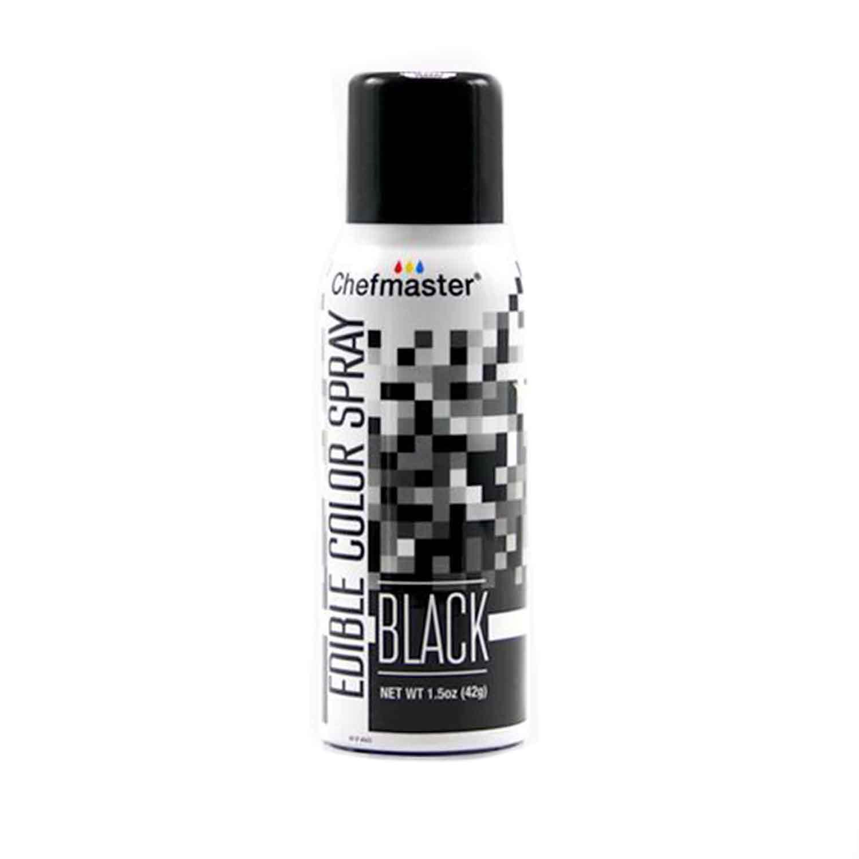 Black Edible Color Spray