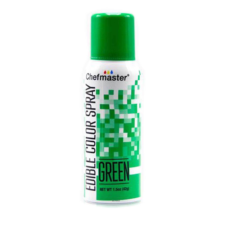 Green Edible Color Spray