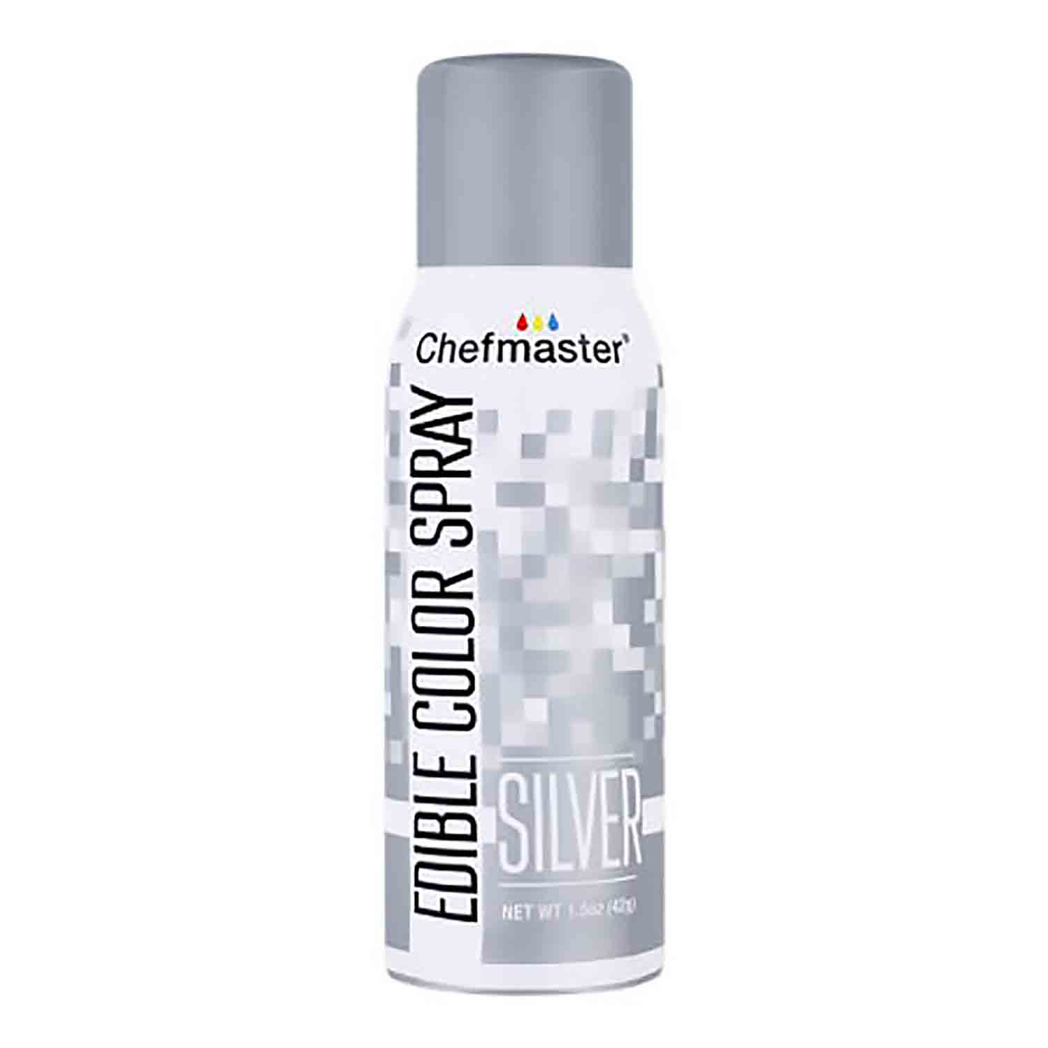 Silver Chefmaster Metallic Spray