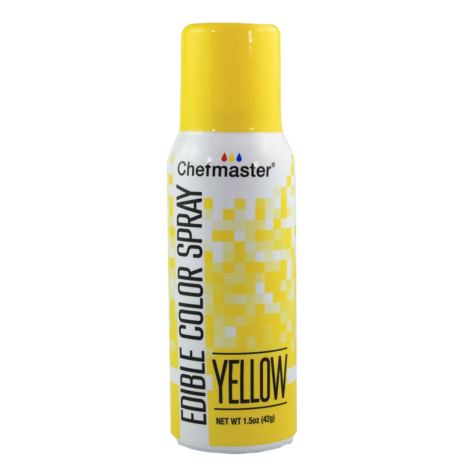 Yellow Edible Color Spray