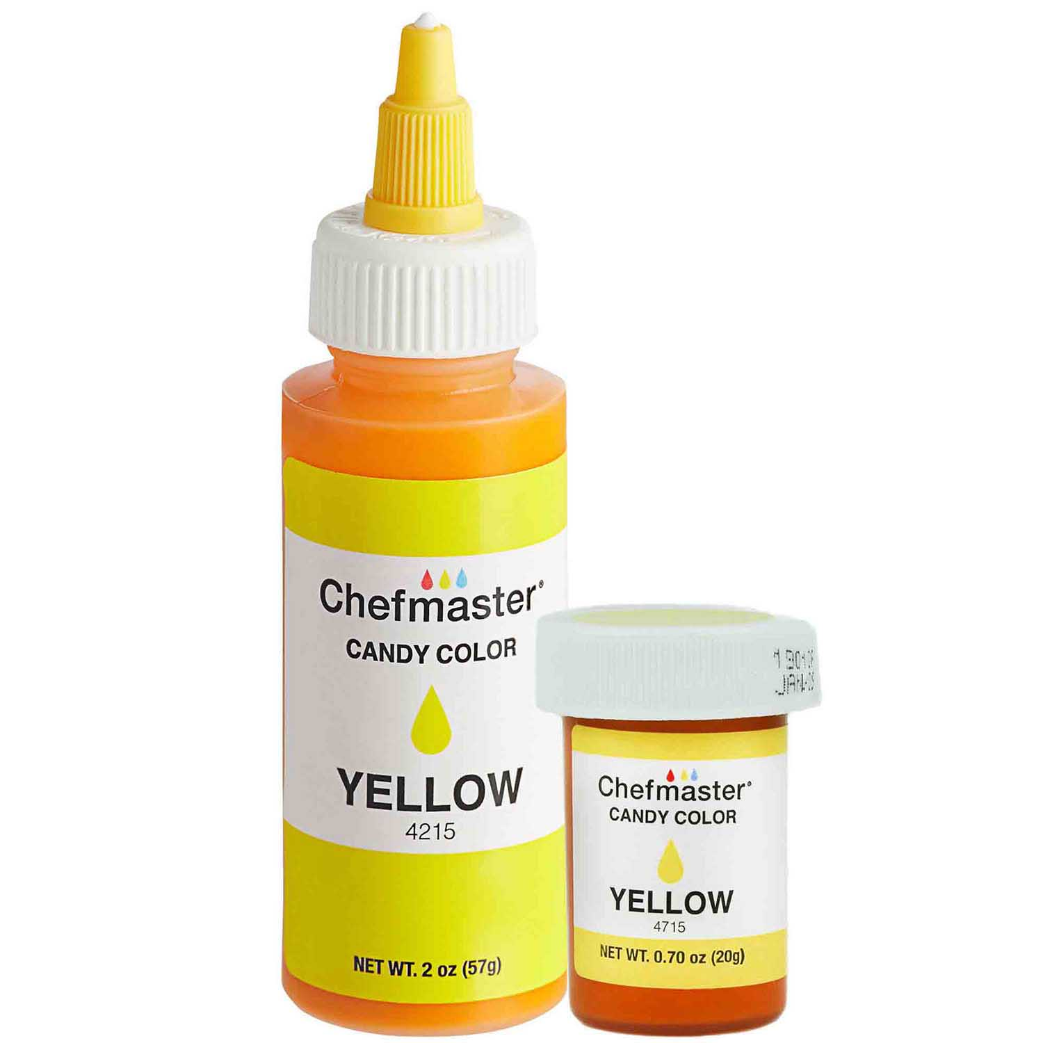 Liquid Yellow Chefmaster Candy Color (Old Item # 41-3284)