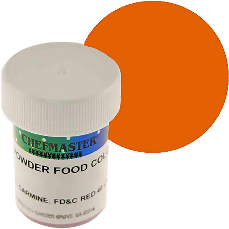 Orange Chefmaster Powdered Food Color (Old Item # 41-4304)