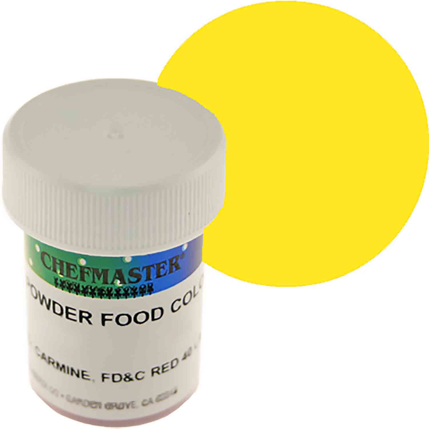 Yellow Powdered Food Color