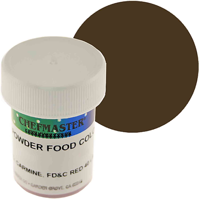 Brown Chefmaster Powdered Food Color (Old Item # 41-4309)