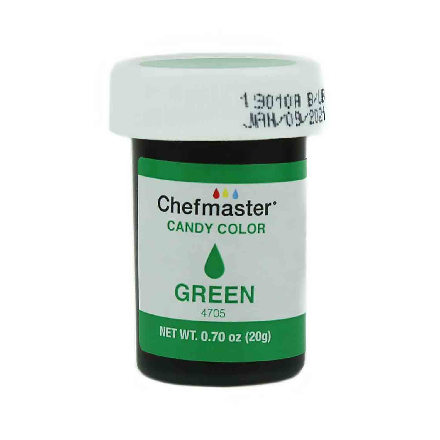 Green Chefmaster Candy Color