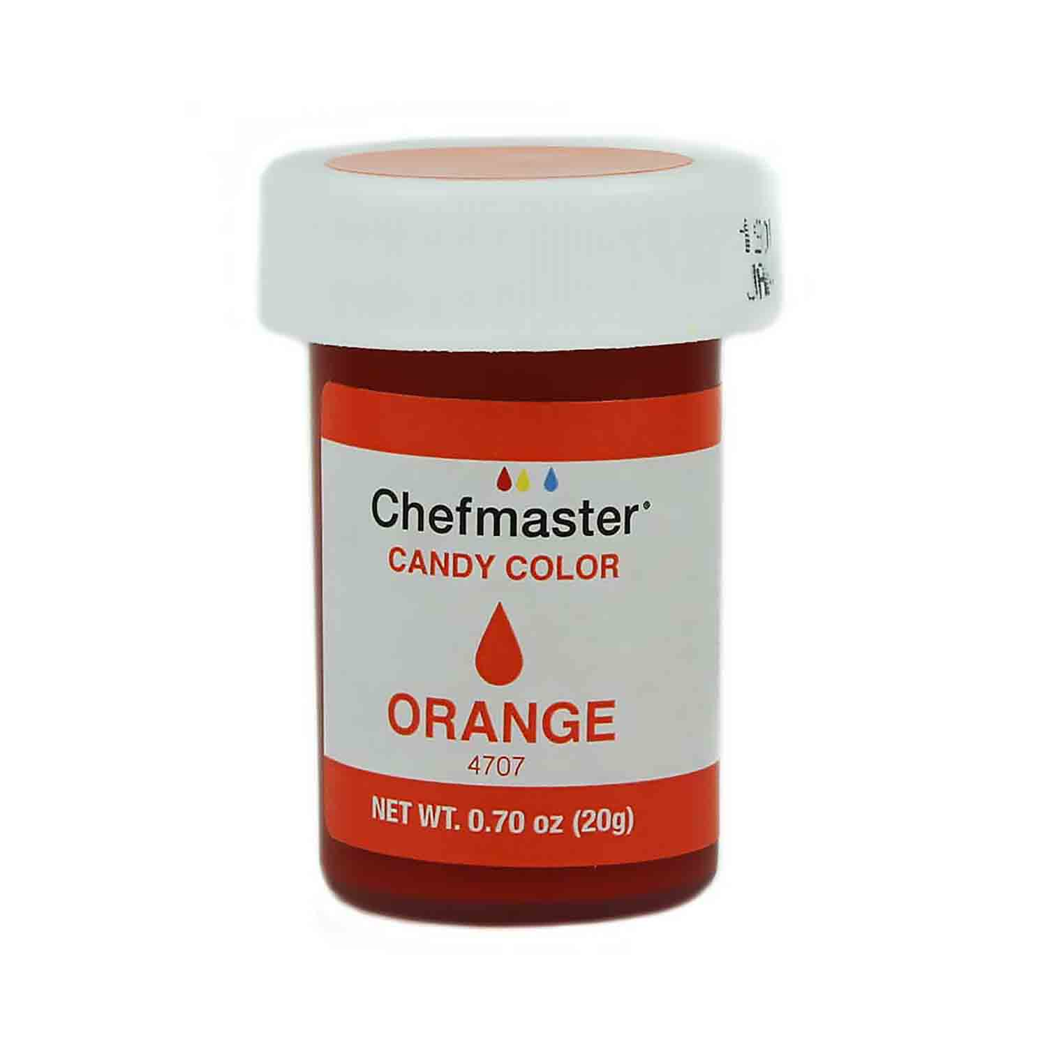 Orange Chefmaster Candy Color