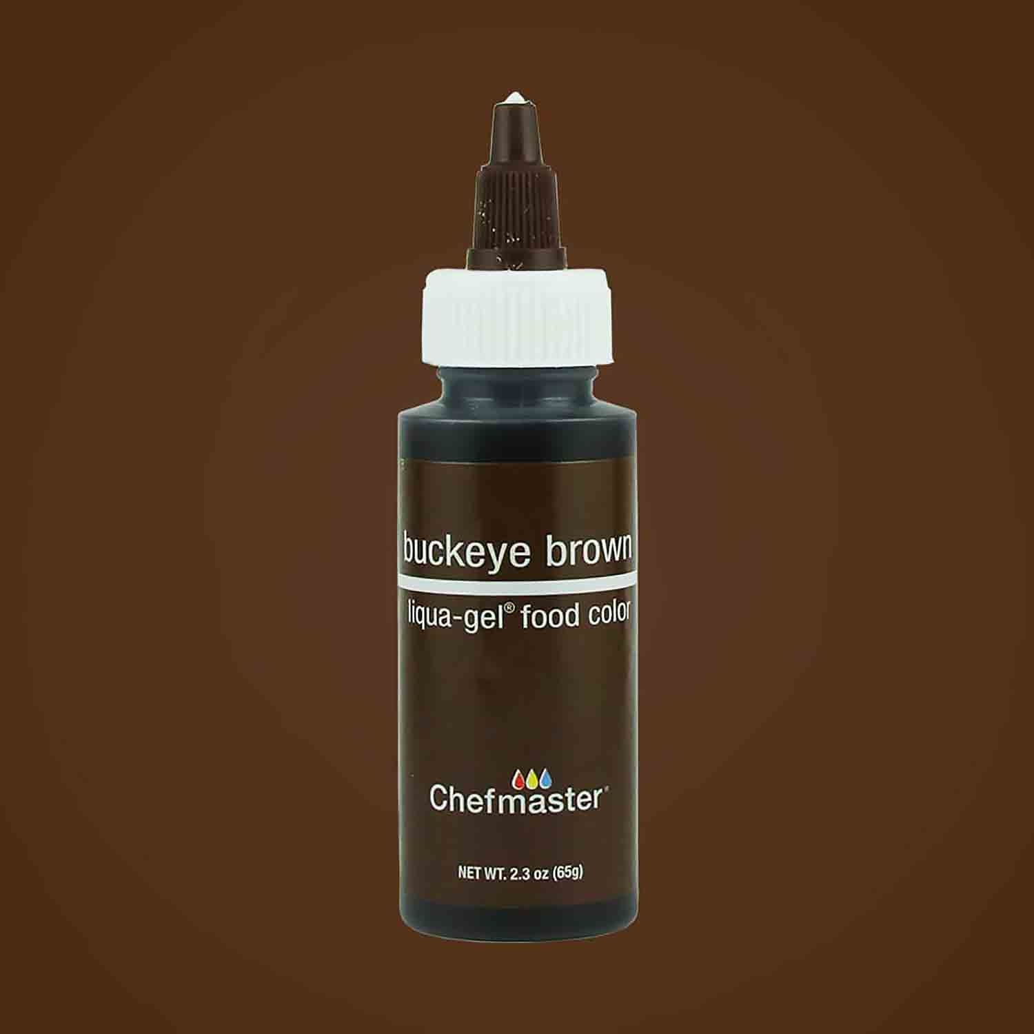 Buckeye Brown Chefmaster® Liqua-gel® Food Color