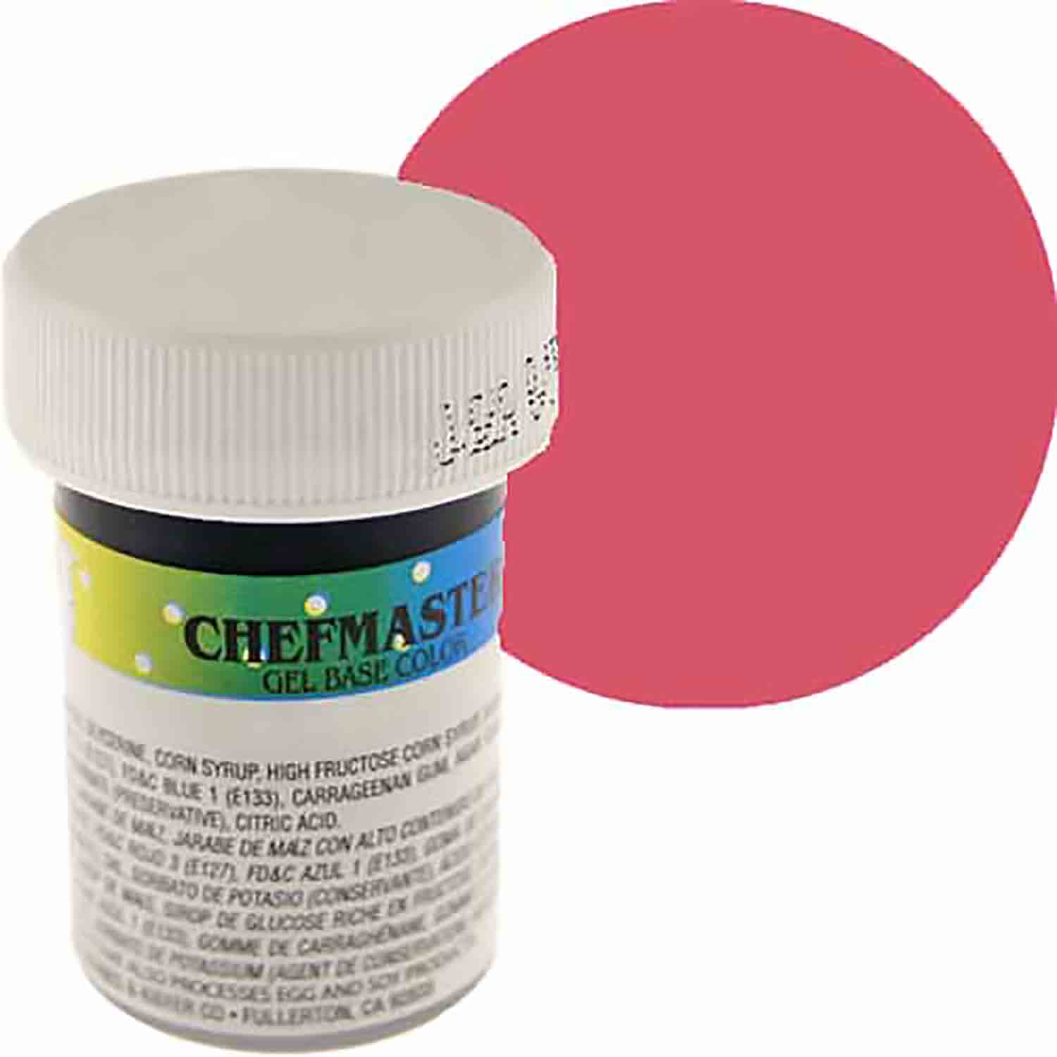Deep Pink Chefmaster Food Color Gel (Old Item # 41-2306)