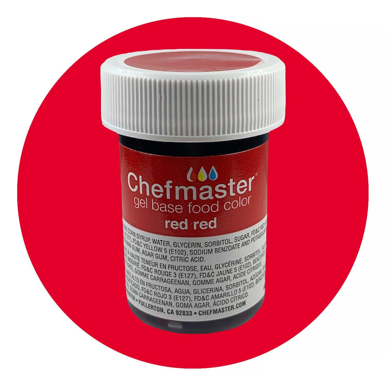 Red Red Chefmaster Food Color Gel (Old Item # 41-2385)