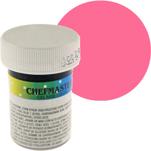 No Fade Ribbon Pink Gel Food Color (Old Item # PH-751012)