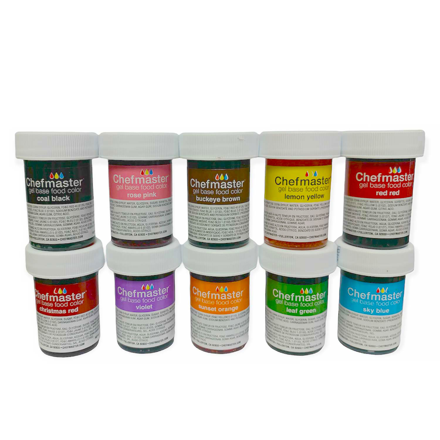 Chefmaster Senior Food Color Gel Kit (Old Item # 41-3160)