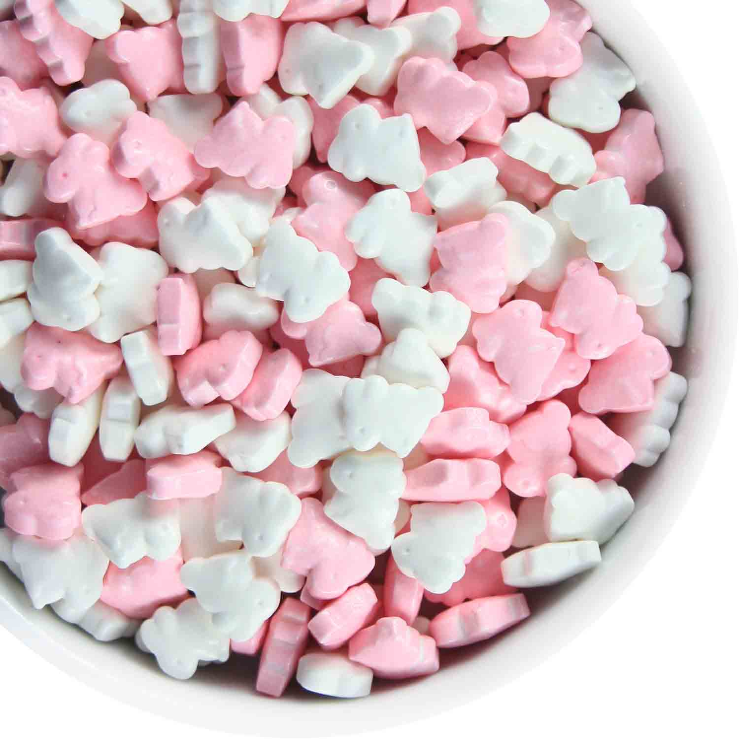Sitting Bunny Candy Sprinkles