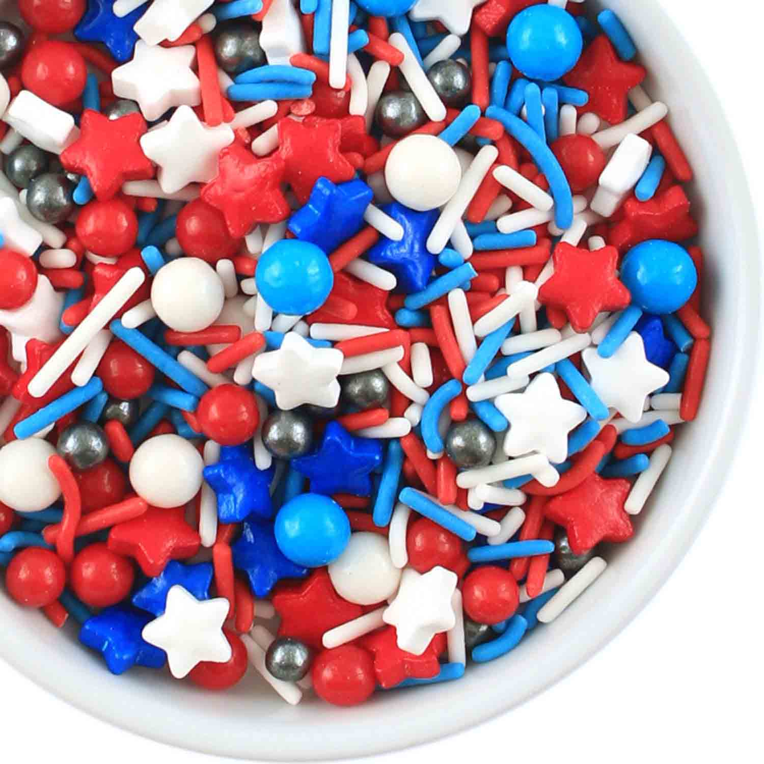 Fourth of July Sprinkle Mix
