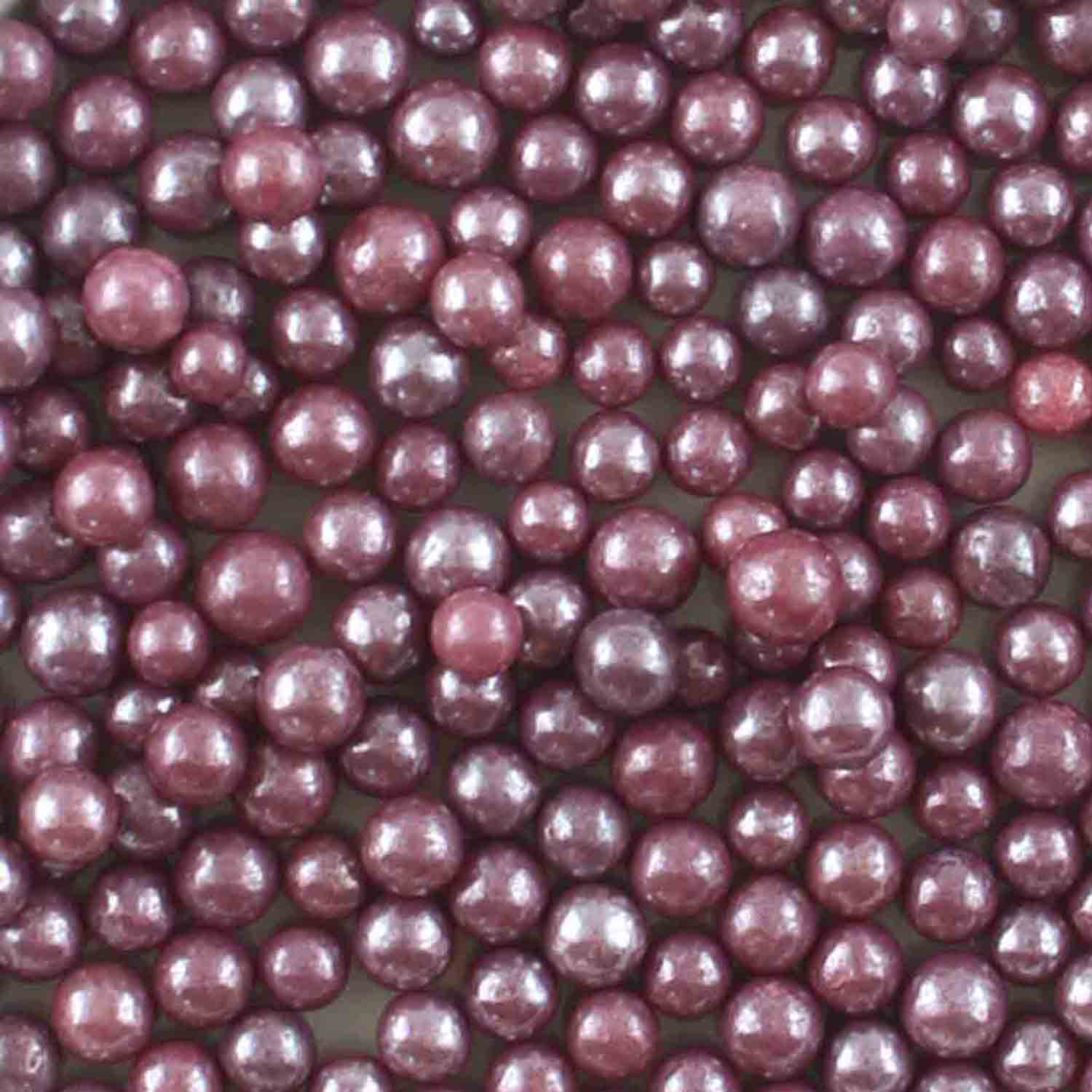 Purple Pearl Beads