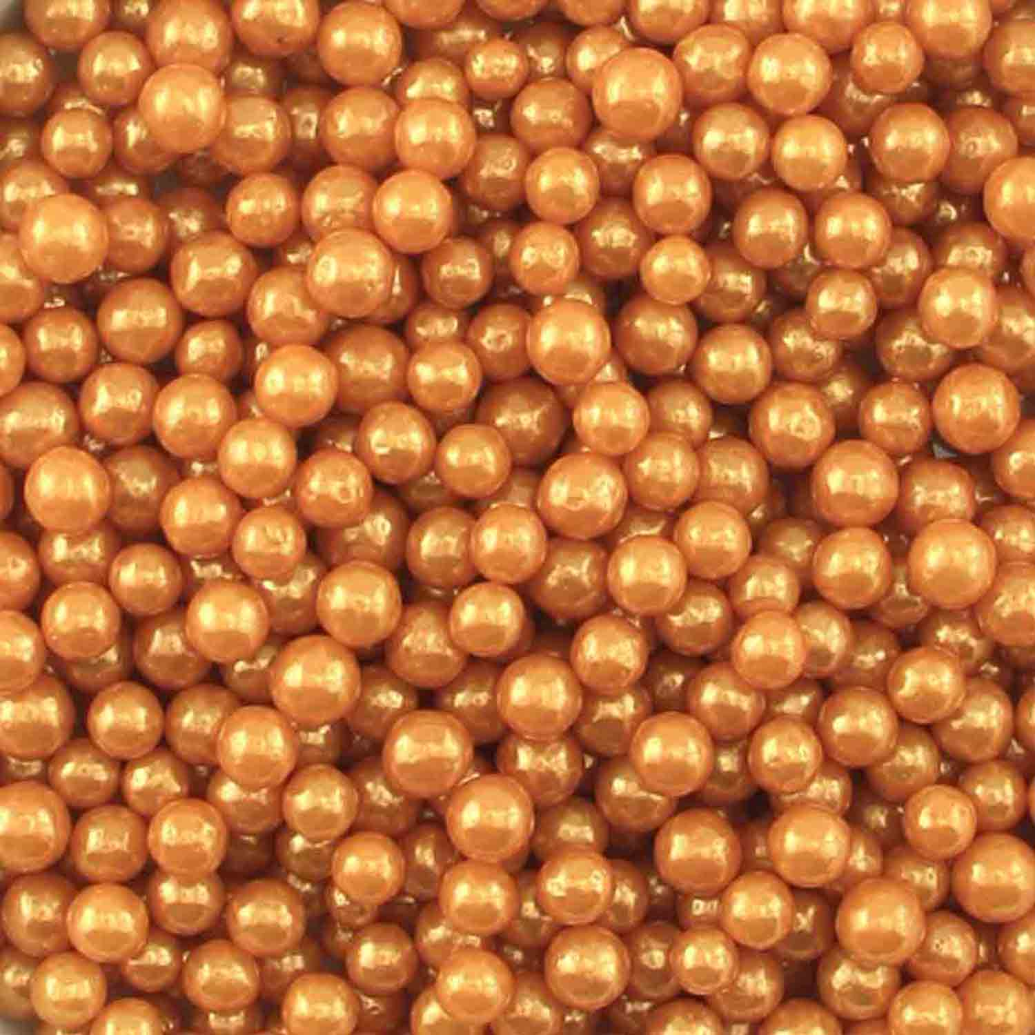 Gold Pearl Beads