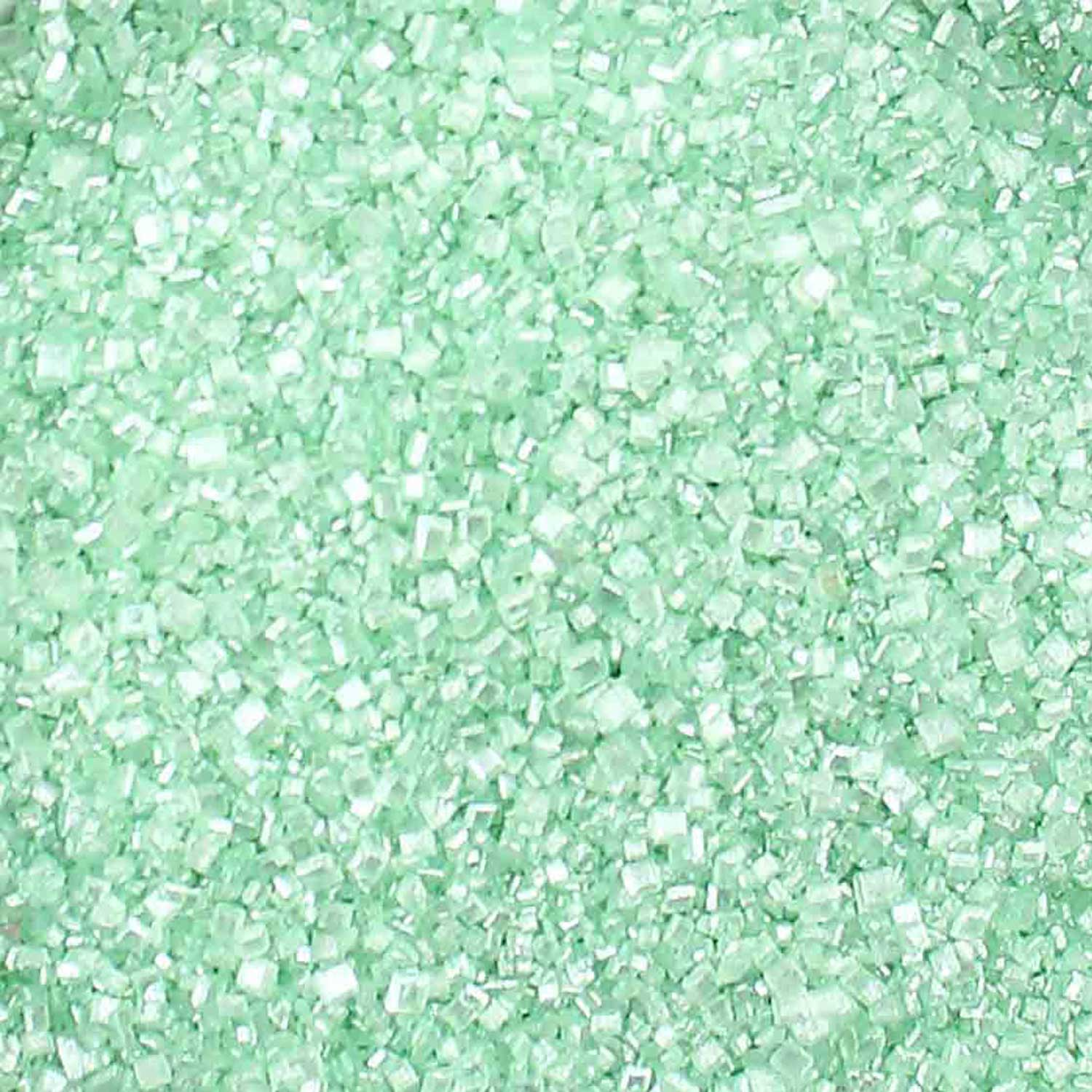 Lime Green Pearlized Sugar Crystals
