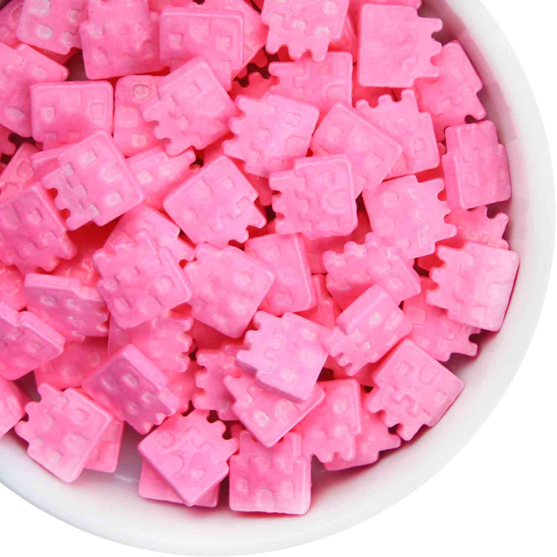 Pink Castle Candy Sprinkles
