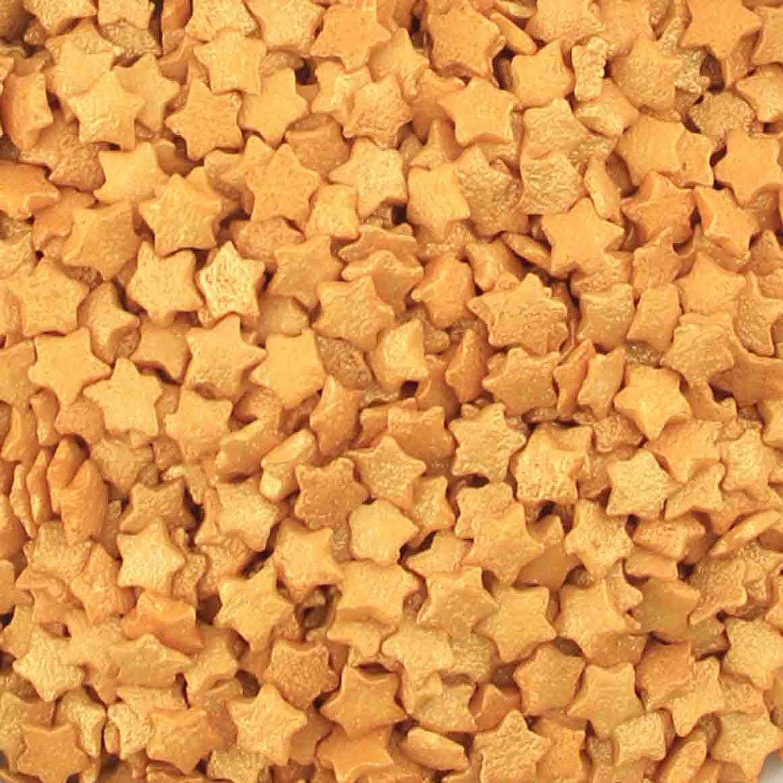 Metallic Gold Star Confetti Sprinkles