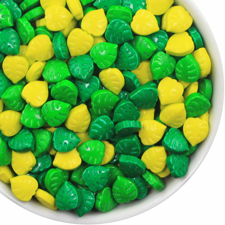 Monstera Leaf Candy Sprinkles