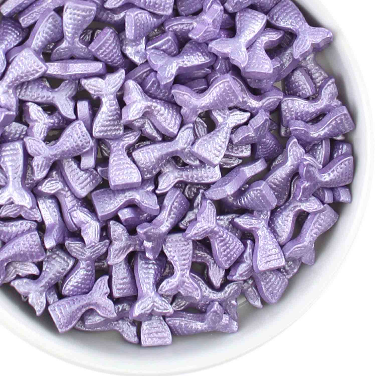 Purple Mermaid Tail Candy Sprinkles