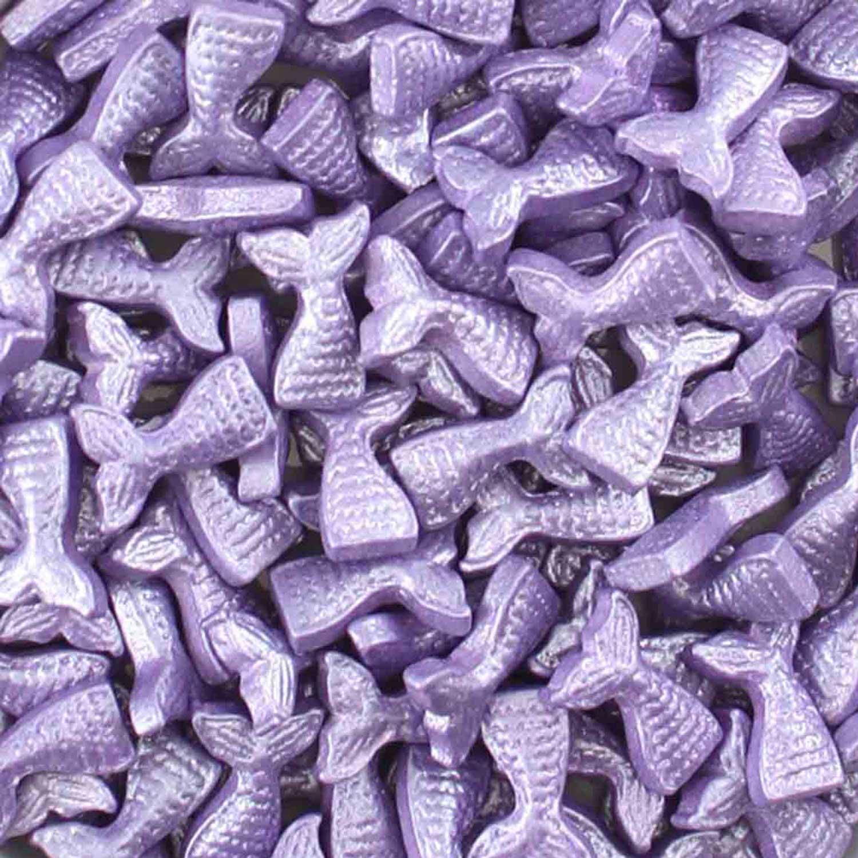 Purple Mermaid Tail Candy Sprinkles