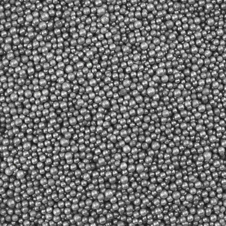 Pearlized Silver Non-Pareils