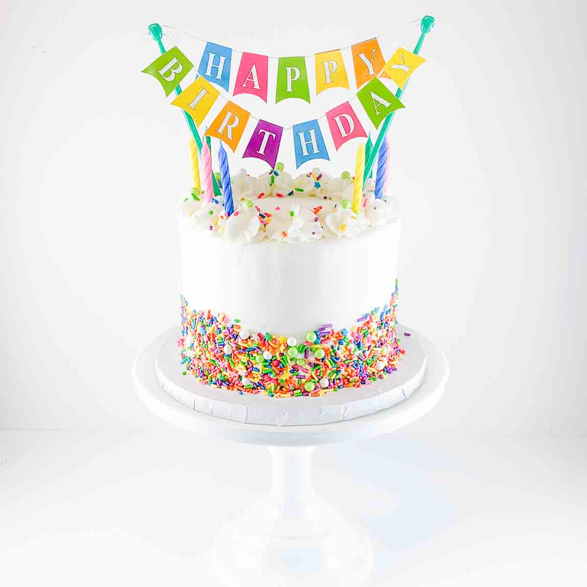 Bake at Home Bright Birthday Cake Kit