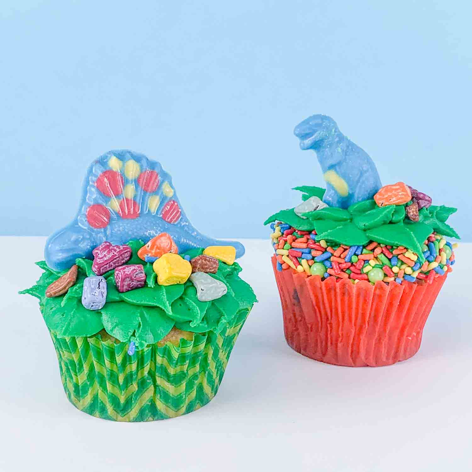 Bake at Home Dinosaur Cupcake Kit