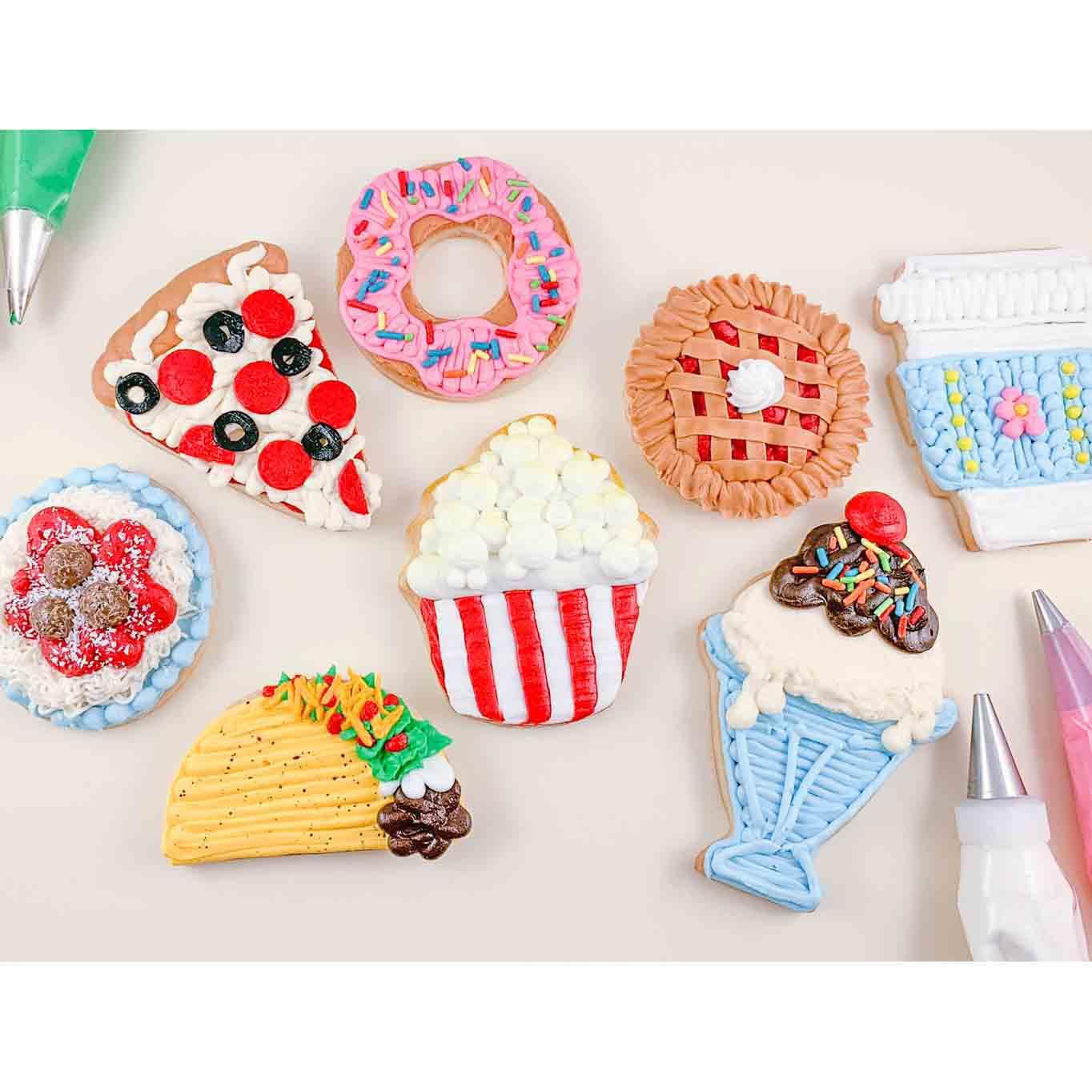 Fun Foods Cookie Decorating Kit