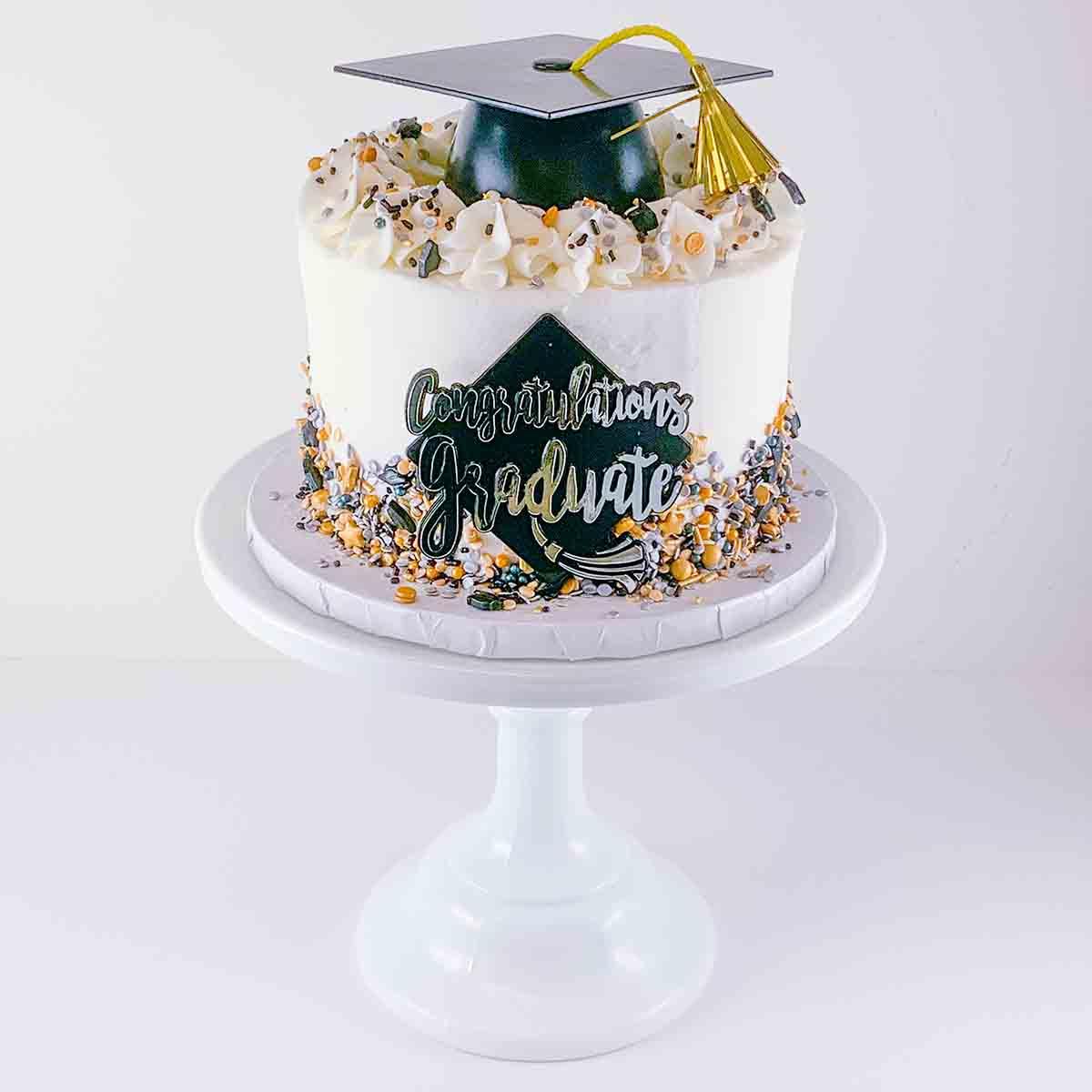 Bake at Home Graduation Cake Kit
