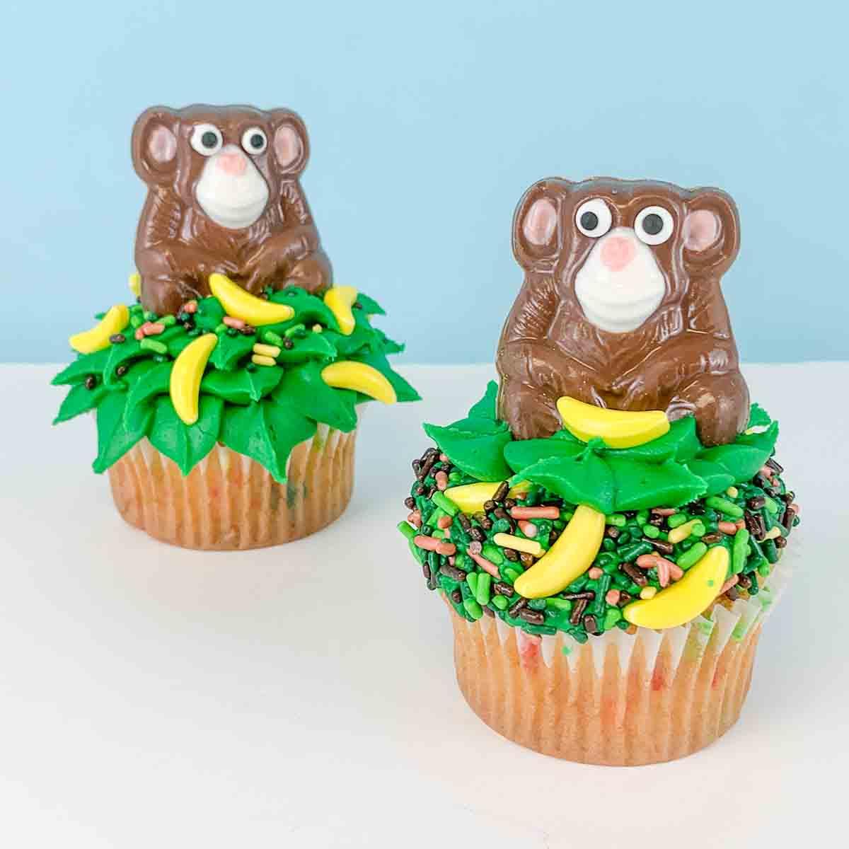 Bake at Home Monkey Cupcake Kit