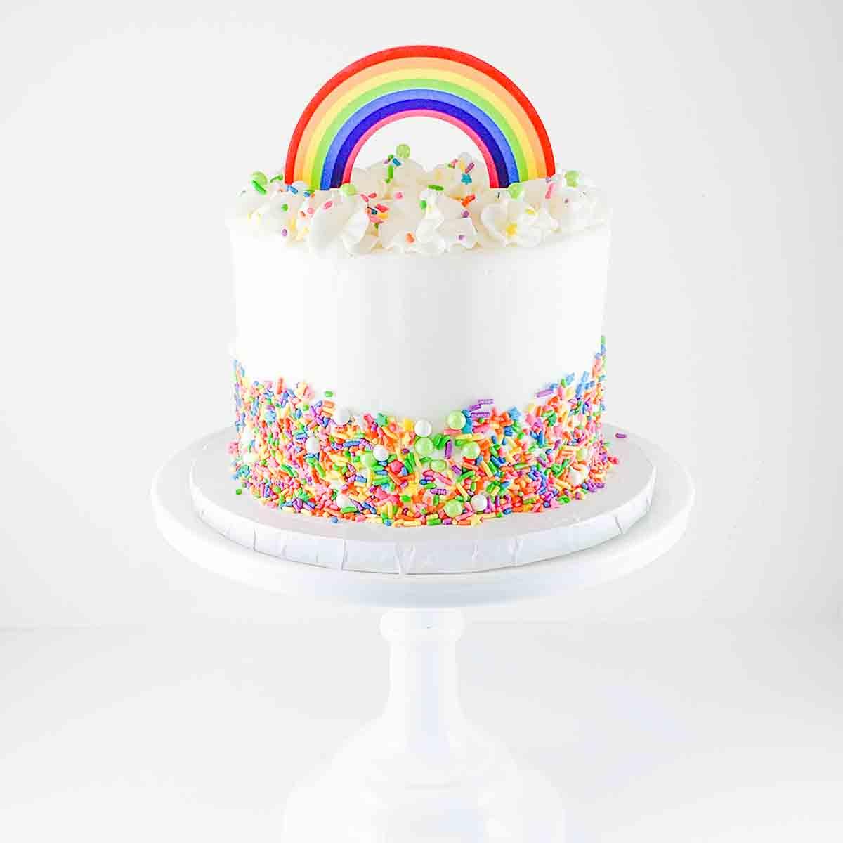 Bake at Home Rainbow Cake Kit