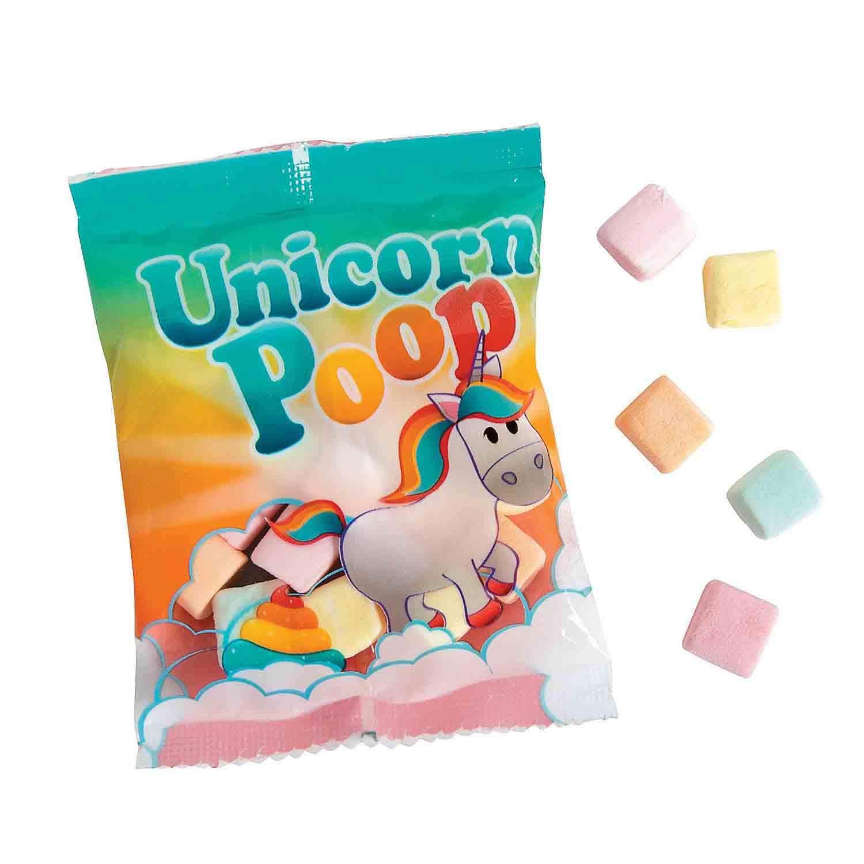 Unicorn Poop Pastel Marshmallows
